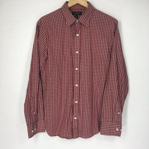Banana Republic L Shirt Button Front Soft Wash
